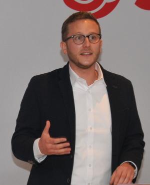 Landtagskandidat Patrick Wegener