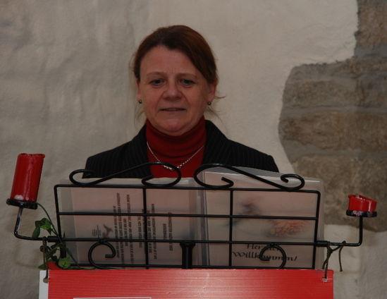 Annette Sawade bei der Aschermittwochsrede