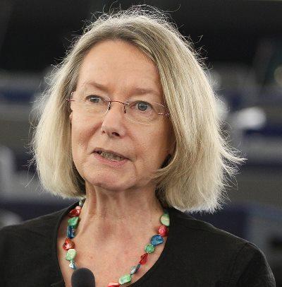 Die neue Vizepräsidentin des EU-Parlaments: Evelyne Gebhardt