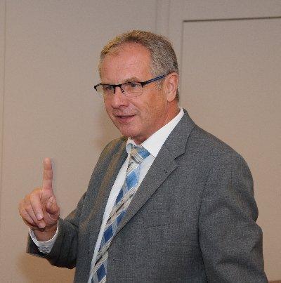 Reinhold Gall MdL in Öhringen